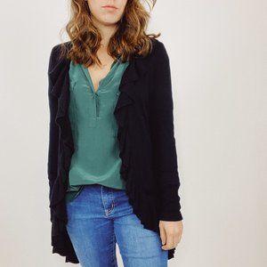 Lilly Pulitzer Sherette Ruffle Cardigan Sweater